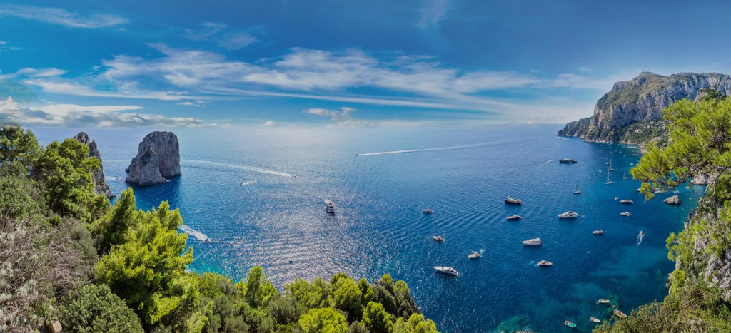 Capri boat rentals