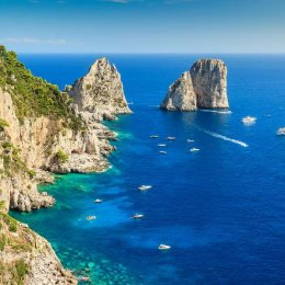 Capri private boat transfer