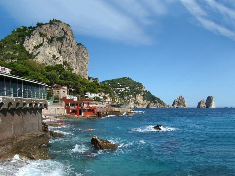 private boat tours of capri coast italy