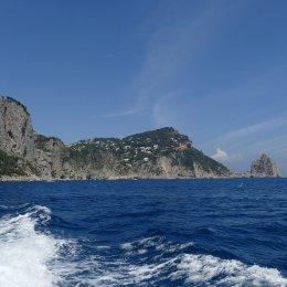 Mediterranean Coast Capri Island Nature Italy
