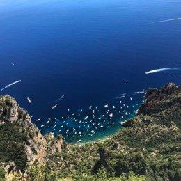 boat excursions to capri positano and li galli