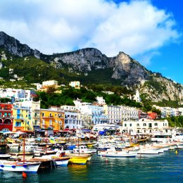 how to get from a cruise ship from naples to capri
