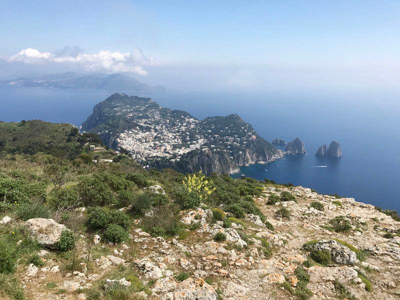 roman history of capri