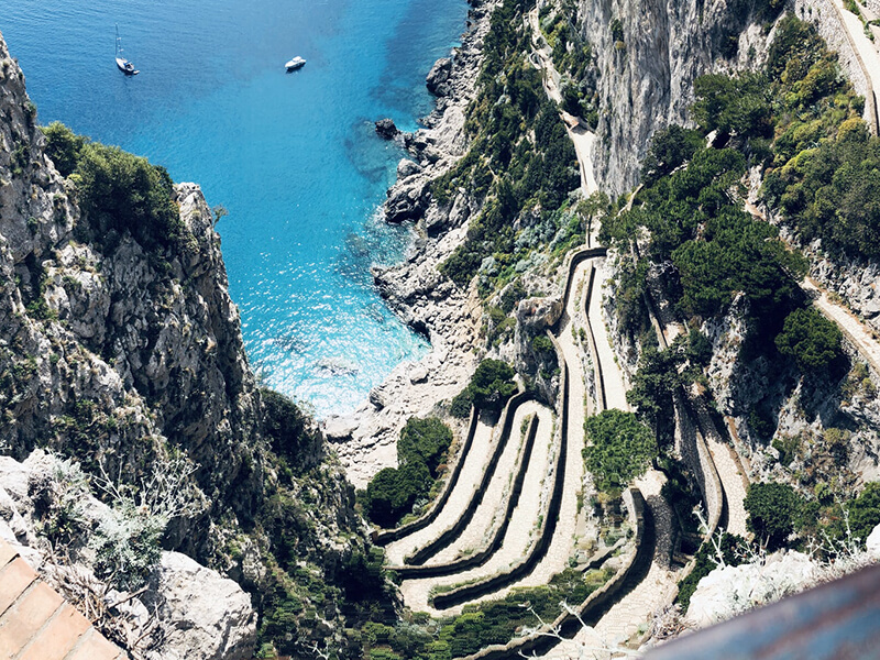 getting to capri from naples
