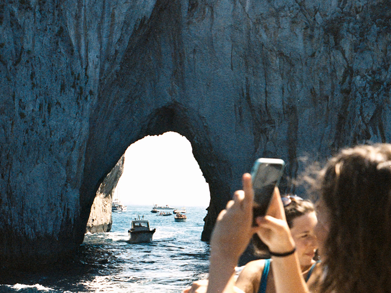 boat trip naples capri