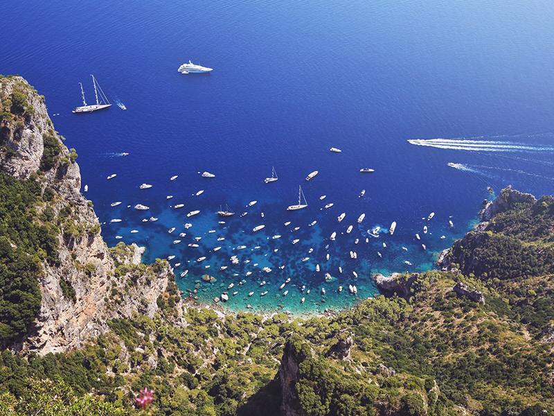 boat transfer naples capri